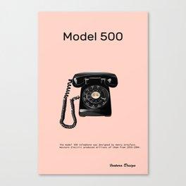 model 500 telephone Canvas Print