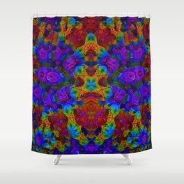 Candy 2 Heatmap Shower Curtain