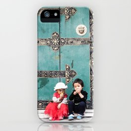 Tibetan Souls iPhone Case