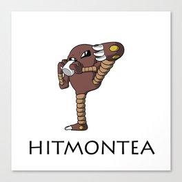 Hitmontea Canvas Print