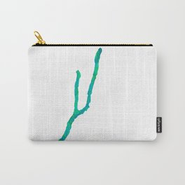 Keuka Lake Watercolor - Blue and green Carry-All Pouch
