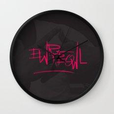 EWRREOWL Wall Clock