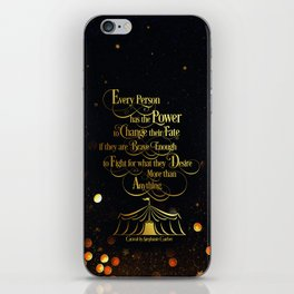 Caraval - Change Your Fate iPhone Skin