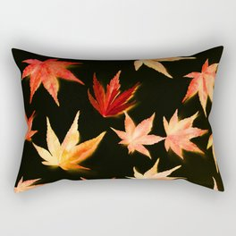 AUTUMN ROMANCE - LEAVES PATTERN #3 #decor #art #society6 Rectangular Pillow
