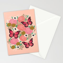 Monarch Florals by Andrea Lauren  Stationery Cards