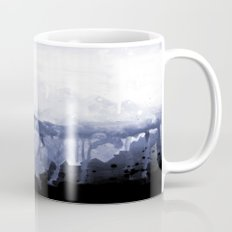 Paint 5 abstract water ocean arctic iceberg nature ocean sea abstract art drip waterfall minimal  Mug