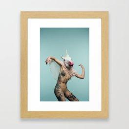 RainbW #2 Framed Art Print
