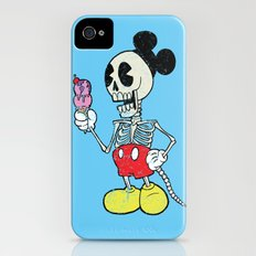 Mickey Bones iPhone (4, 4s) Slim Case