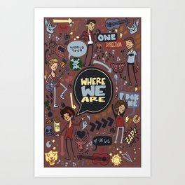 WWA Poster Art Print