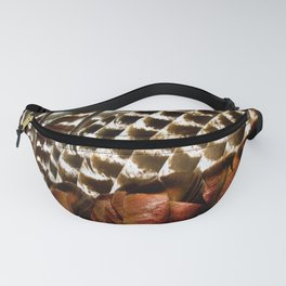 Turkey Wing Feathers Fanny Pack