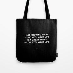 NOTKNOWING pt 2 Tote Bag