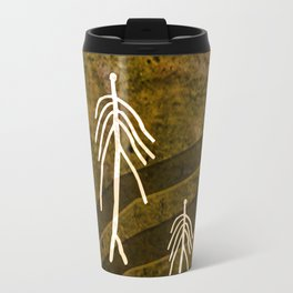Ethnic 4 Canary Islands / Crowd in the Maze Travel Mug