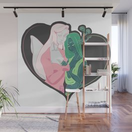 The Lovers Wall Mural