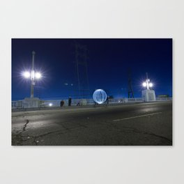 Alien Orb Canvas Print
