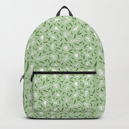 Cats And Cukes - Green Version Backpack