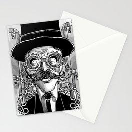 Steampunk Man Stationery Cards