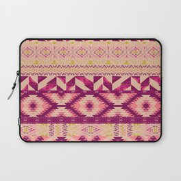 Geo Patched Laptop Sleeve