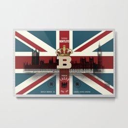 Bentley's Lager Metal Print