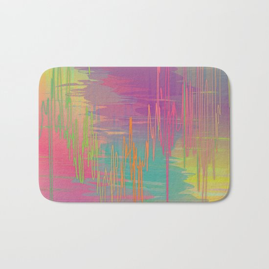 Rainbow Storm Bath Mat