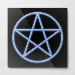 Pentacle Metal Print