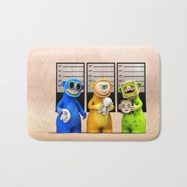 The Usual suspects Bath Mat