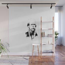 A god, a man, a ghost, a guru Wall Mural