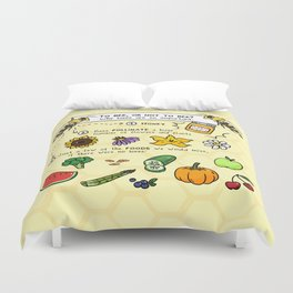 To Bee Duvet Cover