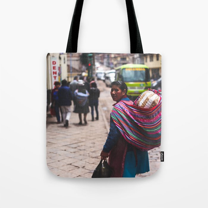 The Look Back Tote Bag
