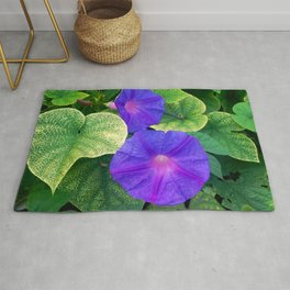 The nature is colorful Rug