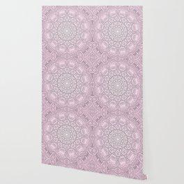 Pink Mandala art Wallpaper