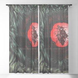 Inner Heart Sheer Curtain