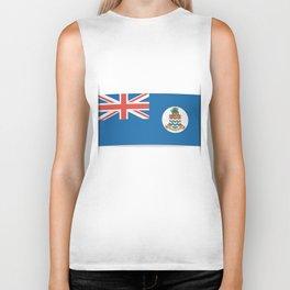 Flag of Cayman Islands. Flag of Cayman Islands.  Biker Tank