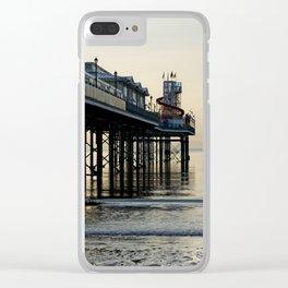 Paignton Pier Clear iPhone Case