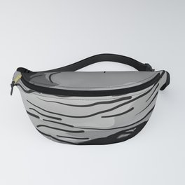 abstract style aurora borealis absbw Fanny Pack