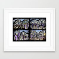 cities Framed Art Prints featuring Cities by Kimmo Rantalainen