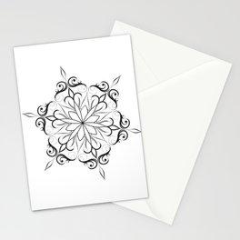 hand drawn mandala Stationery Cards