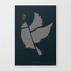 Broken Dove Canvas Print
