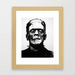 B. Karloff Framed Art Print