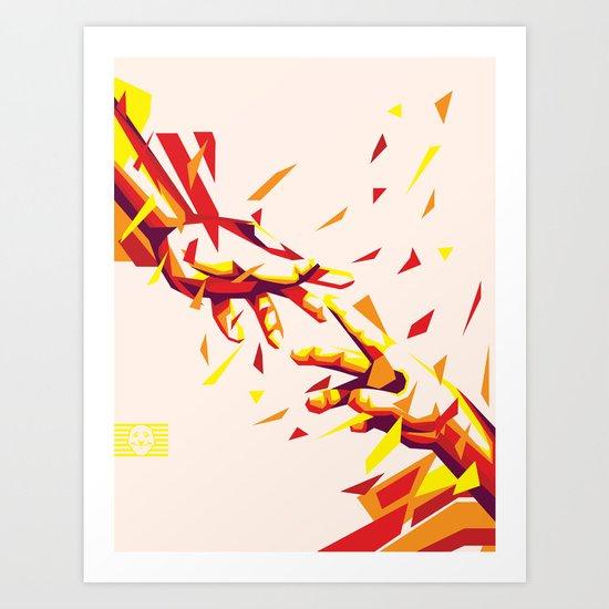 Rise Together Art Print