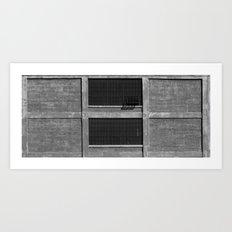 Crack a Window, Would Ya? Art Print