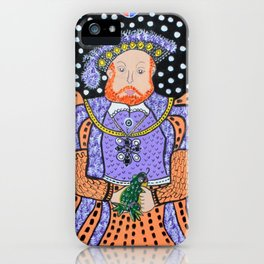 King Henry VIII iPhone Case