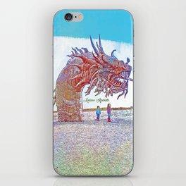 Anza - Borrego Desert Sea Dragon iPhone Skin