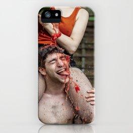 Watermelon Man iPhone Case