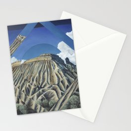 Mount Garfield Polyscape Stationery Cards