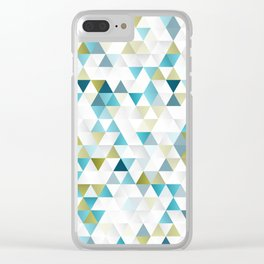 Low Polly Clear iPhone Case