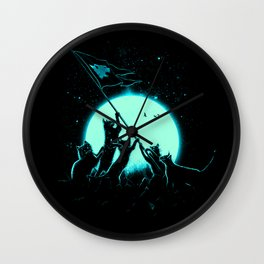 Freedom Cats Wall Clock