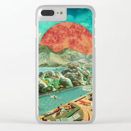 The aquarium pool Clear iPhone Case