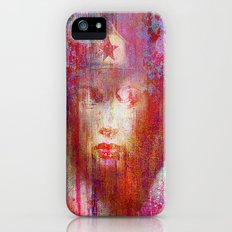 wonder abstract woman iPhone (5, 5s) Slim Case