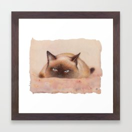Siam Framed Art Print