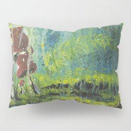 Mushroom Forest Floor Pillow Sham